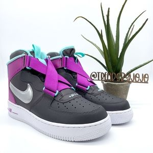Nike AirForce 1 Highness GS Trainers Sneakers